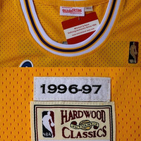 Kobe Bryant 8 Los Angeles Hardwood Classic 1996-1997 Super Rare NBA Jersey Basketball Jersey All Stitched and Sewn Jersey Any Size S - XXL