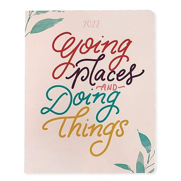 2022 Going Places 18-Month Planner