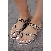 The Jonas Sandal (Cheetah)