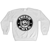 DAVE GROHL Fresh Pots Coffee Addict Sweatshirt Unisex humor Jumper Crewneck Queens of the Stone Age