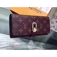 LV Fashion Hotspot Women's Wallet Full Printed Handbag
