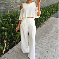 Cut-Out Crop Top and Pants