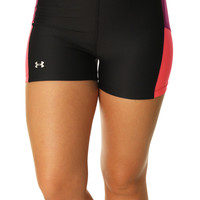 Under Armour Women's UA Heatgear Shorty Compression Fit Shorts