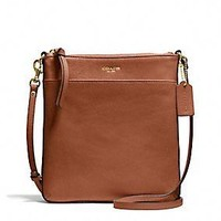 BLEECKER NORTH/SOUTH SWINGPACK IN LEATHER
