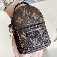 Hipgirls LV Louis Vuitton New fashion monogram leather wallet purse handbag wrist bag