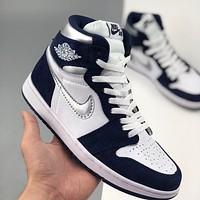 Air Jordan 1 Retro high-top sports running shoes basketball shoes