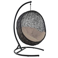 Encase Swing Outdoor Hanging Patio Lounge Chair