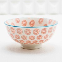 Japanese Floral Bowl in Coral - Urban Outfitters