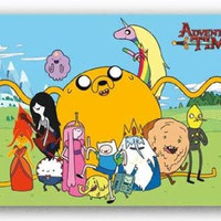 Adventure Time – Group Cartoon RP5796 22x34 New Poster UPC017681057964