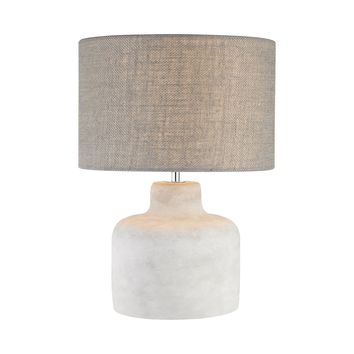 Rockport 1 Light Table Lamp In Polished Concrete Polished Concrete