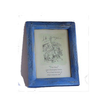 Winnie the pooh. Vintage wood frame. Pooh bear. Winnie the pooh nursery. Pooh quote. Vintage pooh. Classic pooh. Standing picture.