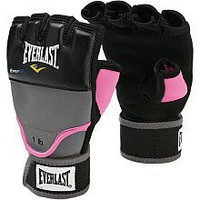 Everlast EverGel Weighted Pink Hand Wraps