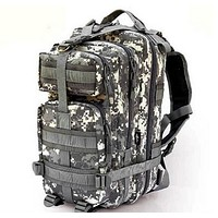 Molle Tactical Backpack: Mission Critical Pro Military Bag 20-35L Survival FREE US Shipping