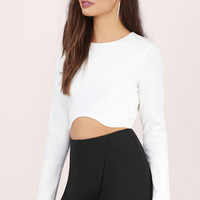 Inside Scoop Crop Top $54