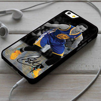 Stephen Curry Grey Blue Gold iPhone 6 6 Plus Case Dollarscase.com