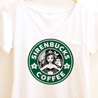 Sirenbucks Coffee Shirt | The Little Mermaid | Ariel
