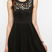 Urban Outfitters - Plastic Island Laser Cutout Dress