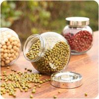 Creative Home Environmental Double-layered Kitchen Salt And Pepper Grinders = 4877792260