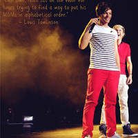 Louis Tomlinson Niall Horan One Direction Quote