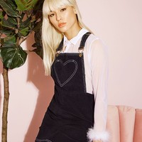 London Pinafore Dress (Black)