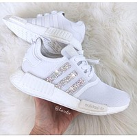 Adidas NMD personality fashion women's casual running sneakers F