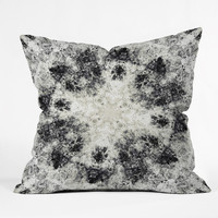 Caleb Troy Monochrome Whirlpool Throw Pillow