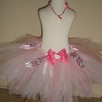 Baby girl Hello kitty pink and white tutu prefect by Hollywoodtutu