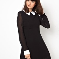 Pop Boutique Coco Dress with Collar