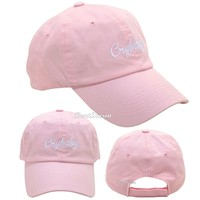 Licensed cool Licensed Melanie Martinez PINK CRYBABY Dad Cap Ballcap Baseball Hat Cry Baby NEW