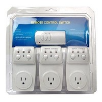 1 pack of 3 Remote Control BH9936-3 Power Switches