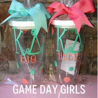 Kappa Delta big and little Tervis