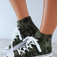 So Chill Sneakers: Camo