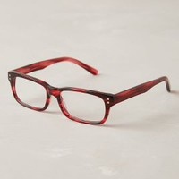 Ruby Demi Reading Glasses by Anthropologie Red