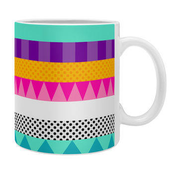 Elisabeth Fredriksson Happy Stripes 2 Coffee Mug