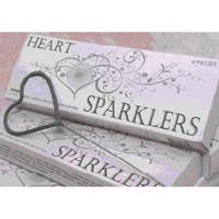 Heart Shaped Sparklers (BULK Case of 72 Wedding Sparklers) [15049 Heart Wedding Sparklers] : Wholesale Wedding Supplies, Discount Wedding Favors, Party Favors, and Bulk Event Supplies