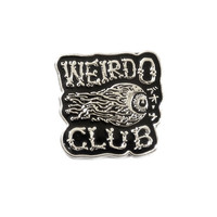 Weirdo Club Pin