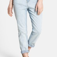 THIS CITY Boyfriend Jeans (Light) (Juniors)