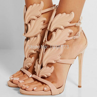 women shoes high heels sandal patent leather gladiator women pumps sexy ladies stiletto party wedding shoes woman