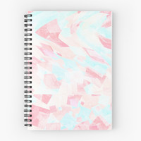 'Light Shapes' Spiral Notebook by ChessJess