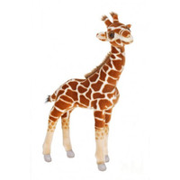 Hansa Plush Realistic Stuffed Animal - Baby Giraffe 21""