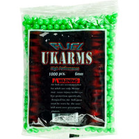 Whetstone  1000 UKARMS 6mm Airsoft 0.12g BBs - Green