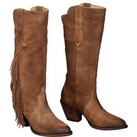 Kacey for Lucchese Boots | Lucchese Suede Cowgirl Boot | Lucchese - since 1883