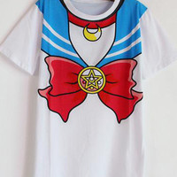 Sailor Moon Print T-Shirt