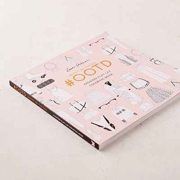 #OOTD: Fashion Flat Lay Coloring Book By Laura Hickman - Urban Outfitters