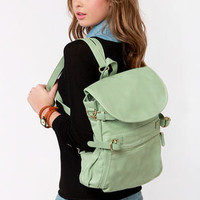 Lily Pond Legends Mint Green Backpack