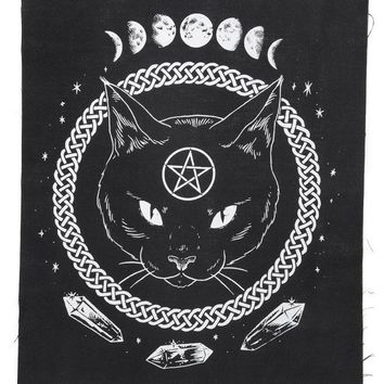 Magickal Protection Large Fabric Back Patch
