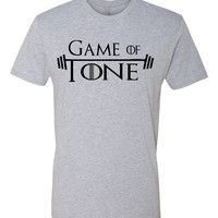 Game of Tone Funny Game of Thrones Pun Workout tee