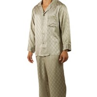 Men's Luxury Silk Pajama Set (Sagacity) Unique Gifts by TexereSilk