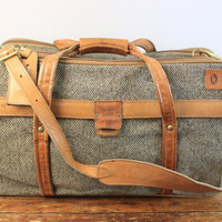 Vintage Hartmann Luggage Travel Suitcase
