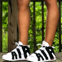 shosouvenir  : Nike Air More Uptempo men and women Gym shoes